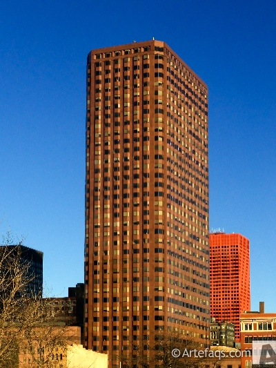 Stock photo of One Financial Place - Chicago, Illinois