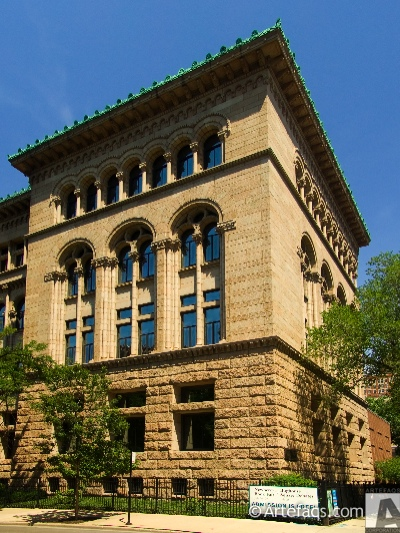 Photograph of Newberry Library - Chicago, Illinois