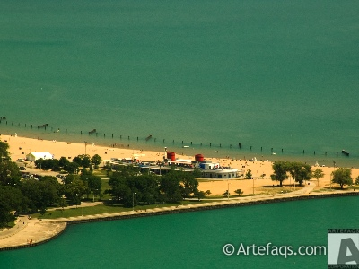 Stock photo of North Avenue Beach House - Chicago, Illinois