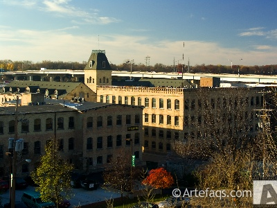 Photograph of Fox River Mills - Appleton, Wisconsin