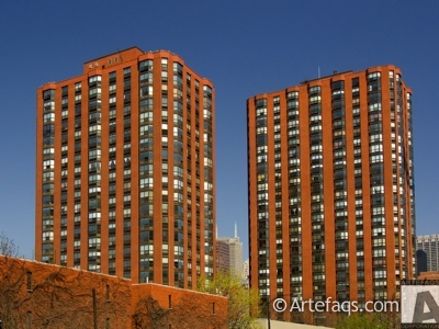 Stock photo of Dearborn Park High Rises - Chicago, Illinois