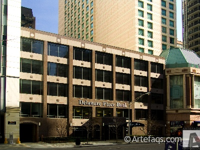 Photograph of Delaware Place Bank - Chicago, Illinois