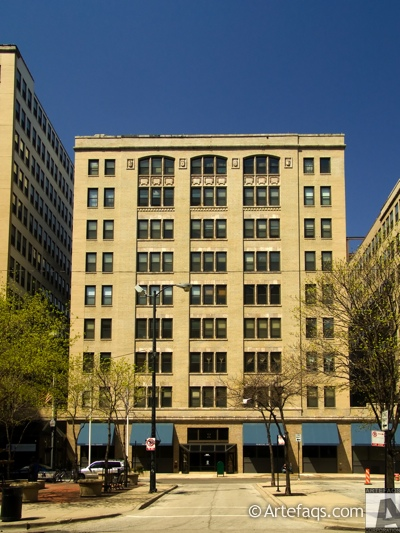 Stock photo of Printers Square Apartments - Chicago, Illinois