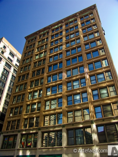 Stock photo of Brooks Bulding - Chicago, Illinois