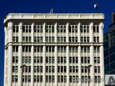 Stock photo of Chicago, Burlington, and Quincy Railroad Building - Chicago, Illinois