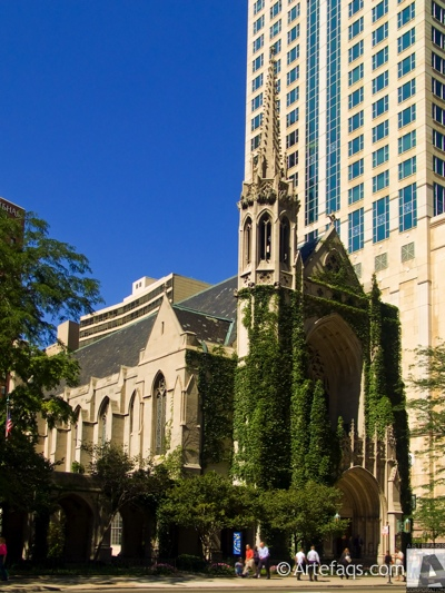 Stock photo of Fourth Presbyterian Church - Chicago, Illinois