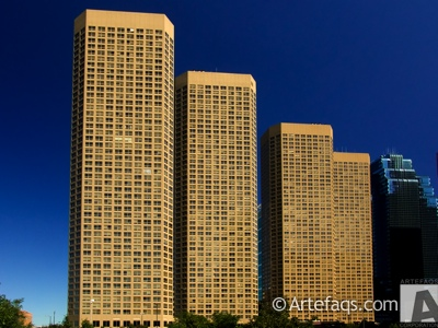 Stock photo of Presidential Towers - Chicago, Illinois