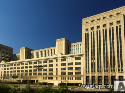 Photograph of United States Post Office Chicago Main - Chicago, Illinois