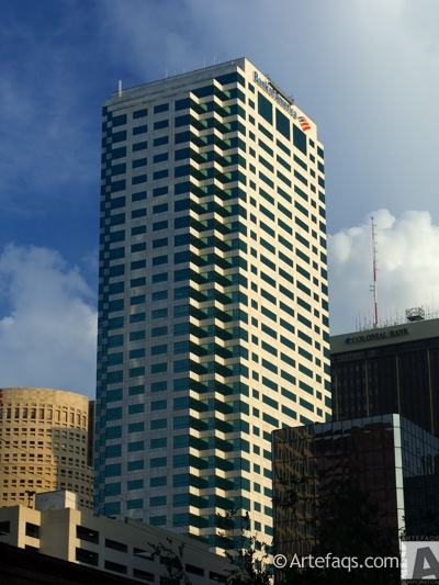 Photograph of Bank of America Plaza (Tampa) - Tampa, Florida