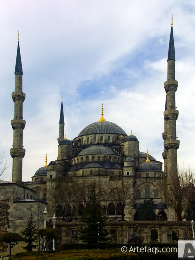 Stock photo of Blue Mosque - Istanbul, Turkey