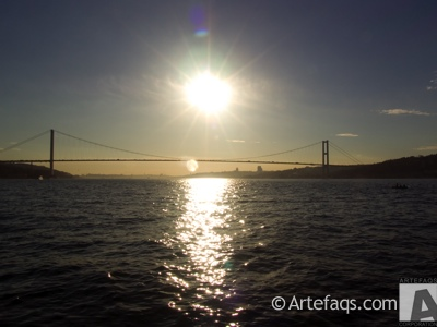 Photograph of Bosphorus Strait - Istanbul, Turkey