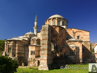 Stock photo of Church of Saint Savior in Chora (Kariye Camii) - Istanbul, Turkey