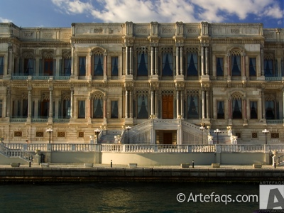 Photograph of Ciragan Palace - Istanbul, Turkey