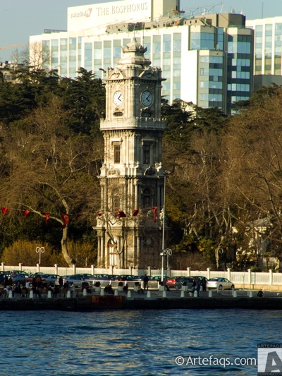 Photograph of Dolmabahce Clock Tower - Istanbul, Turkey