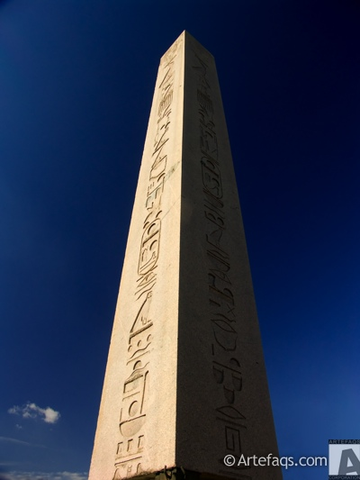 Stock photo of Egyptian Obelisk - Istanbul, Turkey