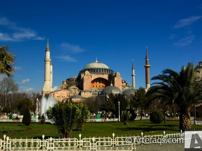 Stock photo of Haghai Sophia (Aya Sofya) - Istanbul, Turkey