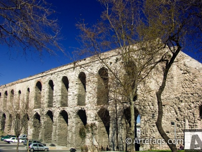 Stock photo of Valens Aqueduct (Bozdogan Kemeri) - Istanbul, Turkey