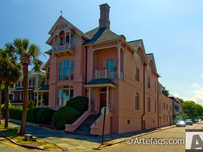 Stock photo of 25 East Battery Street  - Charleston, South Carolina