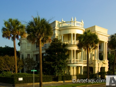 Photograph of 27 and 29 East Battery Street  - Charleston, South Carolina