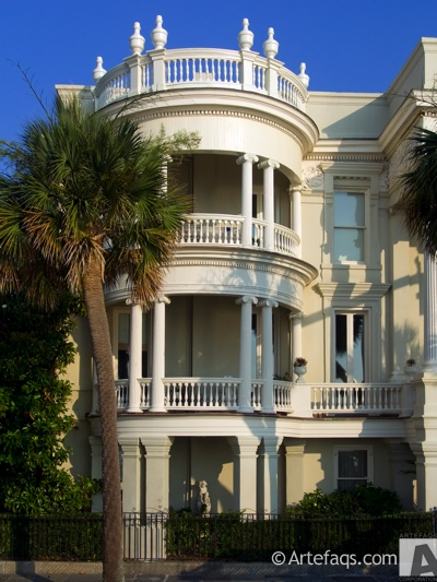 Stock photo of 27 and 29 East Battery Street  - Charleston, South Carolina