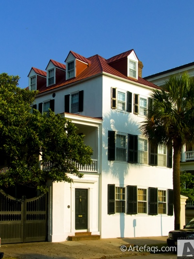 Photograph of 43 East Bay Street - George Sommers House  - Charleston, South Carolina