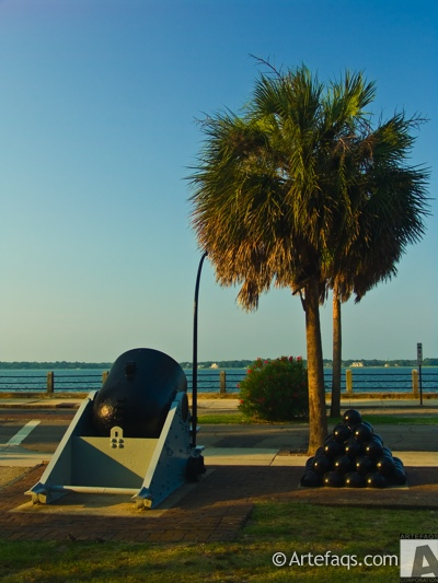Photograph of Cannon  - Charleston, South Carolina