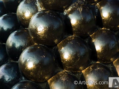 Photograph of Cannonballs  - Charleston, South Carolina
