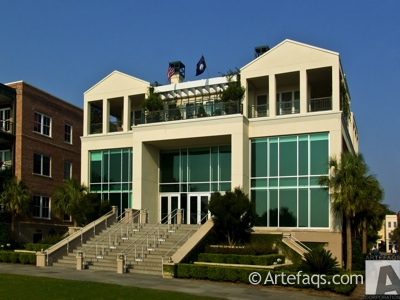 Stock photo of City Gallery at Waterfront Park  - Charleston, South Carolina