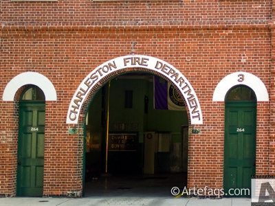 Stock photo of Engine Company 2 - 262 Meeting Street  - Charleston, South Carolina