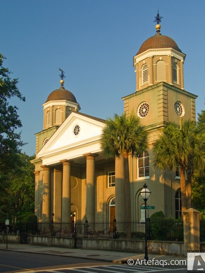 Photograph of First Presbyterian Church  - Charleston, South Carolina