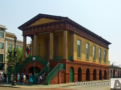 Stock photo of Market Hall and Sheds  - Charleston, South Carolina