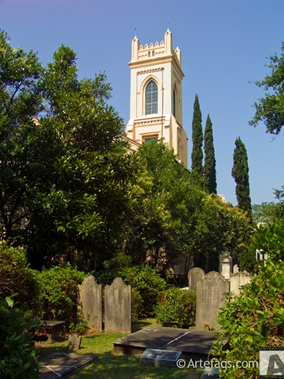 Photograph of Unitarian Church in Charleston  - Charleston, South Carolina