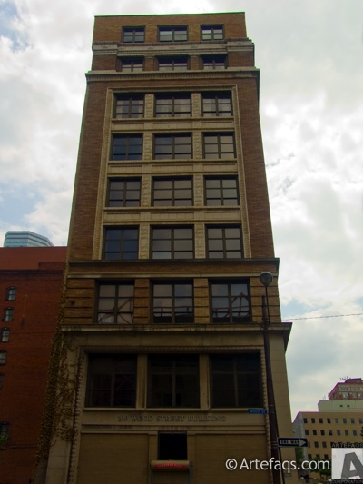 Stock photo of 100 Wood Street Building - Pittsburgh, Pennsylvania