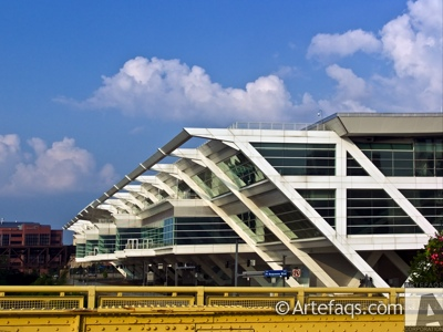 Photograph of David L. Lawrence Convention Center - Pittsburgh, Pennsylvania
