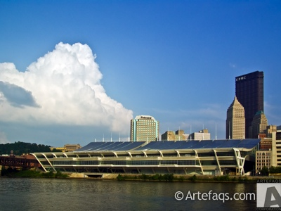 Stock photo of David L. Lawrence Convention Center - Pittsburgh, Pennsylvania