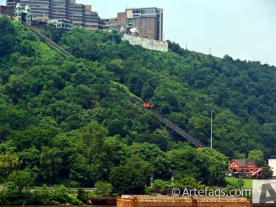 Stock photo of Duquesne Incline - Pittsburgh, Pennsylvania