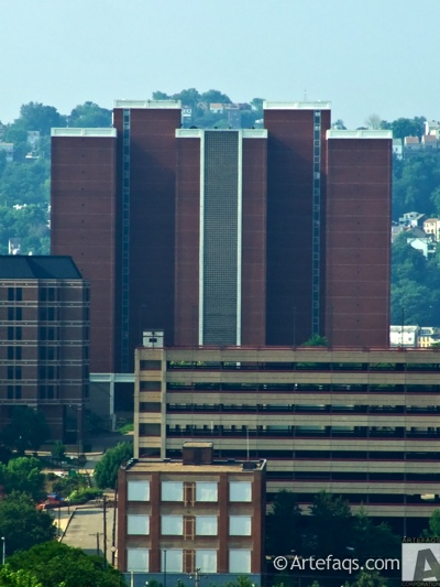 Photograph of Duquesne Towers - Pittsburgh, Pennsylvania