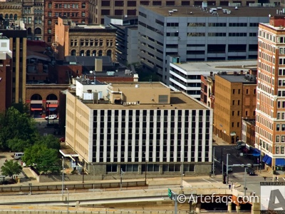 Photograph of Human Services Building - Pittsburgh, Pennsylvania
