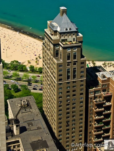 Stock photo of Drake Tower  - Chicago, Illinois