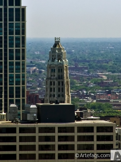Photograph of Mather Tower  - Chicago, Illinois
