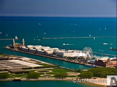 Photograph of Navy Pier  - Chicago, Illinois