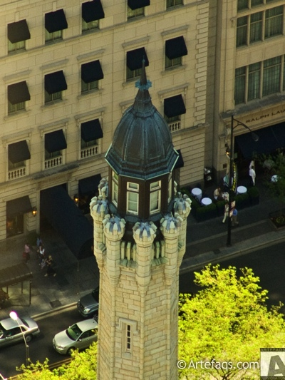 Stock photo of Old Chicago Water Tower  - Chicago, Illinois