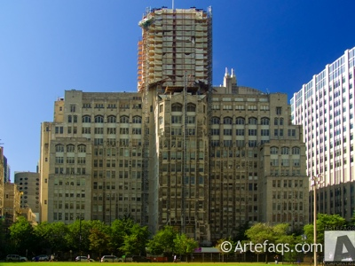 Photograph of Ward Memorial Building - Northwestern University - Chicago, Illinois -