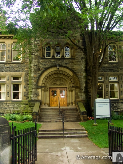 Stock photo of Admissions and Awards Building - University of Toronto - Toronto, Ontario