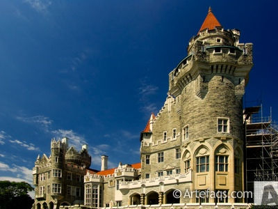 Stock photo of Casa Loma - Toronto, Ontario
