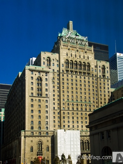 Stock photo of Fairmont Royal York Hotel - Toronto, Ontario