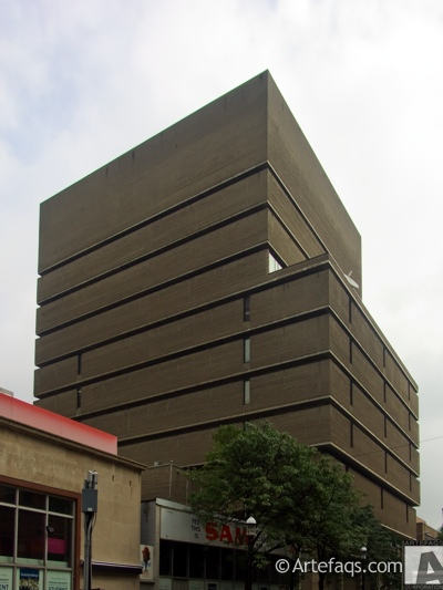 Photograph of Library Building - Ryerson University - Toronto, Ontario