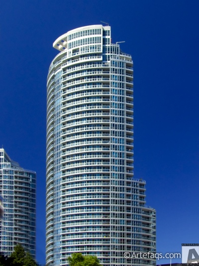 Photograph of Waterclub Condominiums - Toronto, Ontario