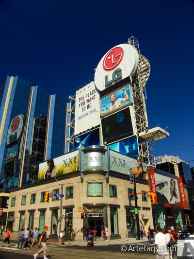 Stock photo of Yonge-Dundas Square - Toronto, Ontario