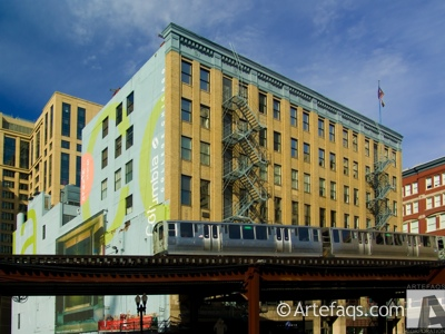 Stock photo of 33 East Congress Building - Columbia College Chicago - Chicago, Illinois
